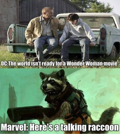 DC,marvel,guardians of the galaxy,rocket raccoon