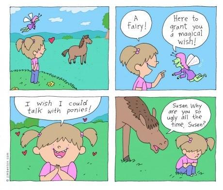 sick truth,sad but true,horses,web comics