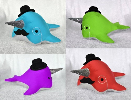 The Unicorns Of The Sea Never Looked So Dapper or Colorful