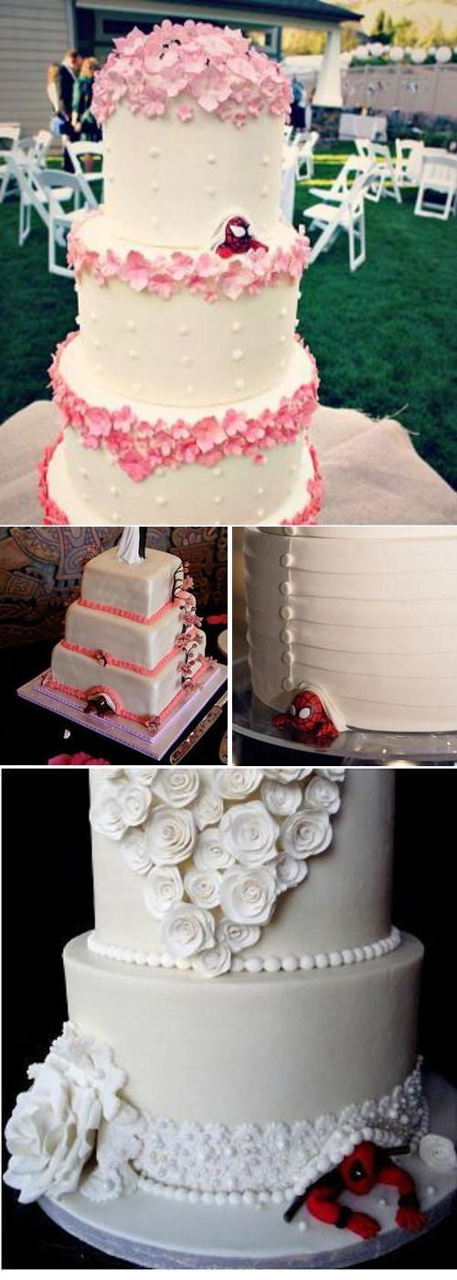 Wedding Cakes Got A Little More Super In Recent Years