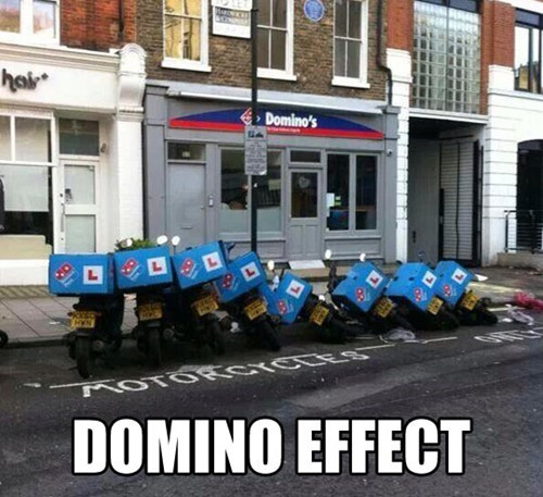 dominos,the domino effect