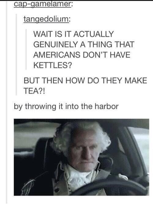 Ain't No Party Like a Boston Tea Party