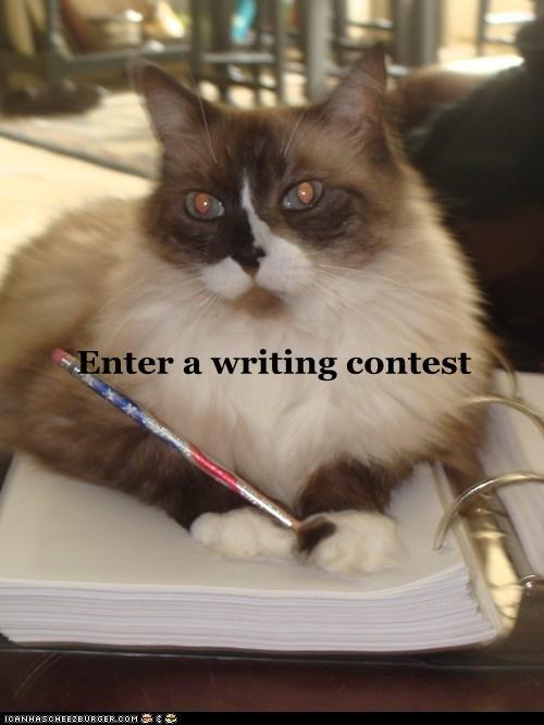 Enter a writing contest