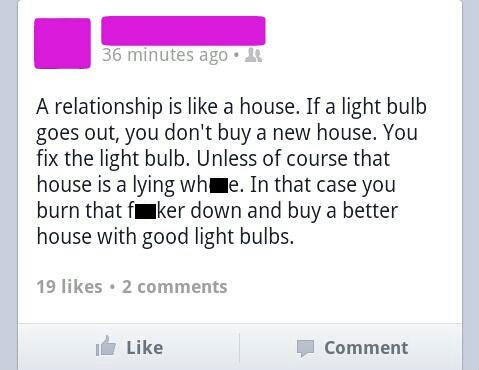 Relationships Are Like Houses