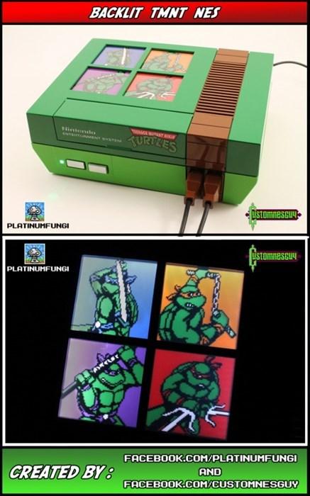 NES,TMNT