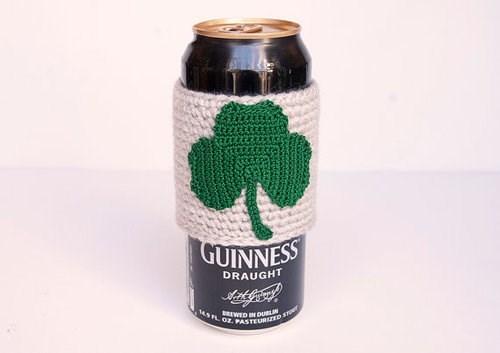 beer,guinness,St Patrick's Day,koozie