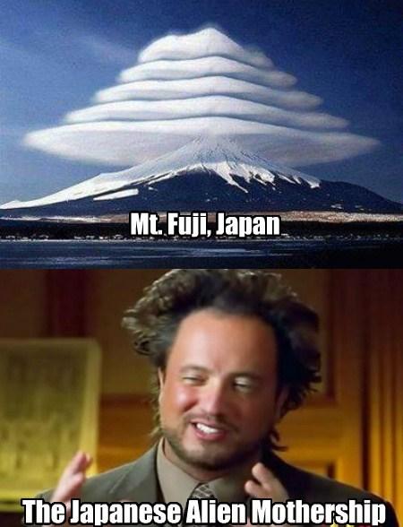 JAPANESE ALIENS?