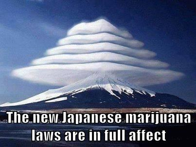The new Japanese marijuana laws are in full affect