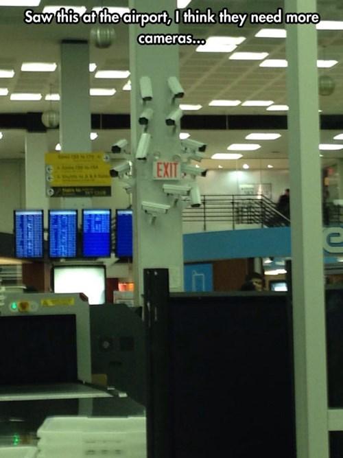 TSA,security cameras