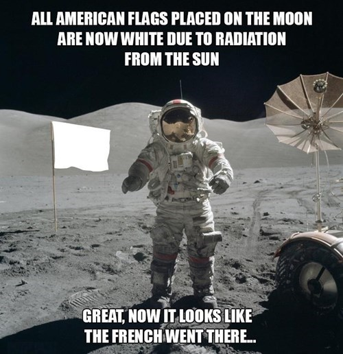 astronauts,france,american flags,old glory