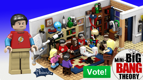 "Brick-Based Awesome of the Day: Possible LEGO Set Based on ""The Big Bang Theory"""