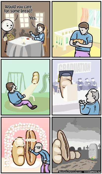 bread,puns,web comics