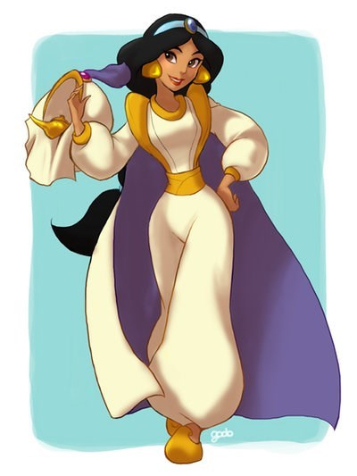 18 Disney Princesses Dressed as Their Princes