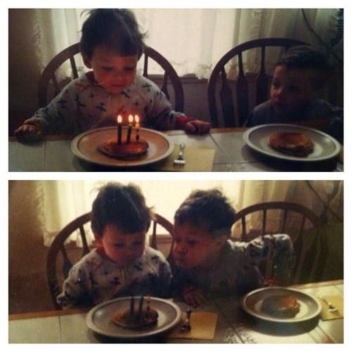 kids,birthday,sibling rivalry,candles,siblings,parenting