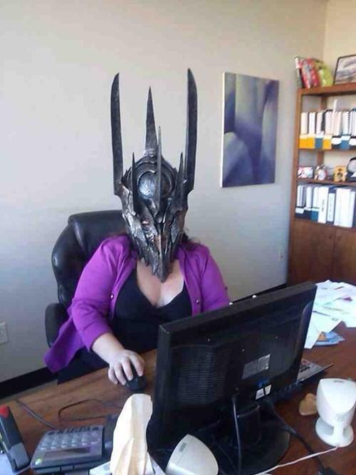 sauron,jobs,office pranks