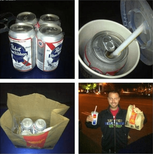 beer,tricky,McDonald's,funny