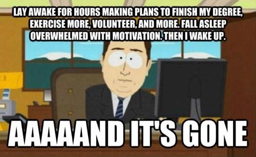 Goodbye, Motivation!