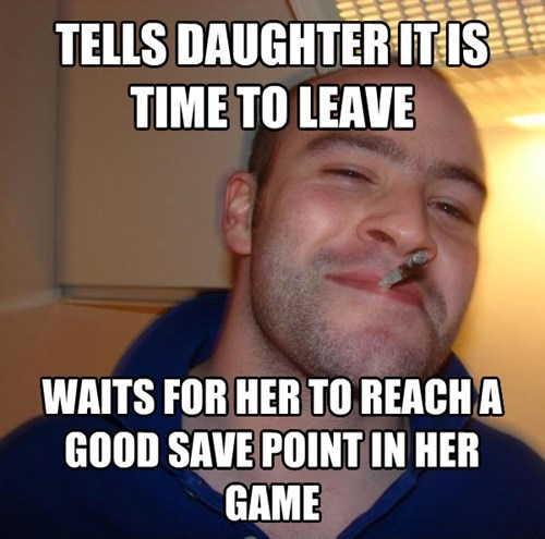 Good Guy Gamer Dad