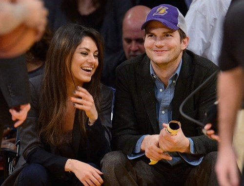Jackie and Kelso...I Mean Mila and Ashton are Officially Engaged