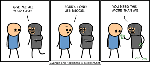 bitcoin,sad but true,web comics