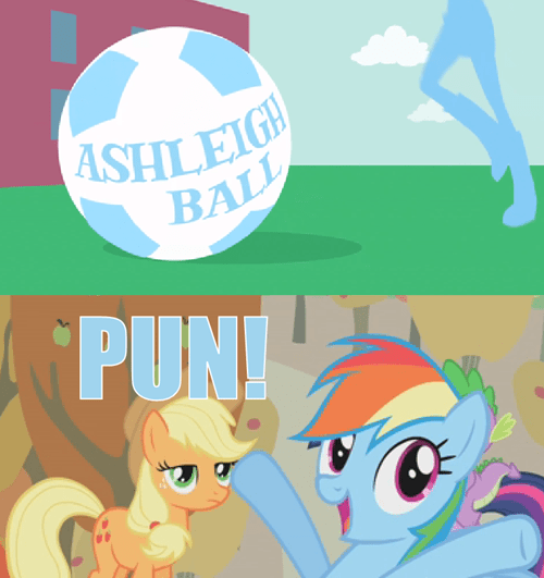 applejack,equestria girls,puns,rainbow dash
