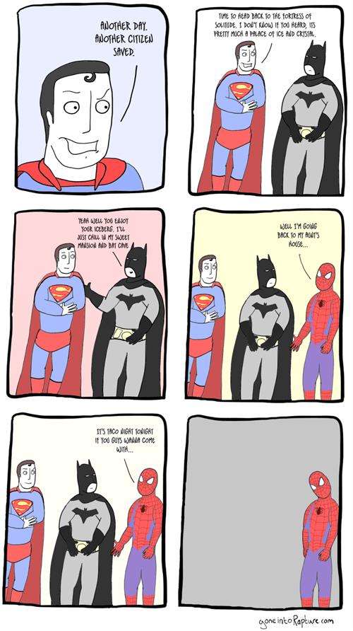 superheros,batman,Spider-Man,superman,web comics
