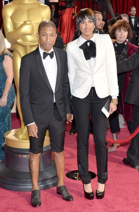 Pharrell Williams Just Won't Stop With the Ridiculous Award Ceremony Attire