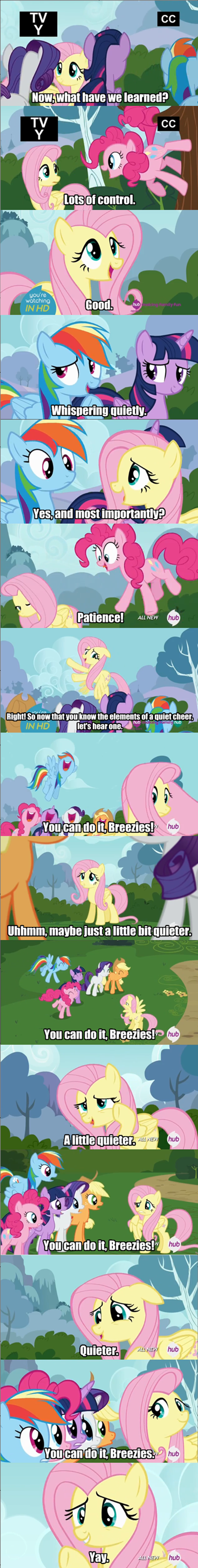 cheers,fluttershy,yay