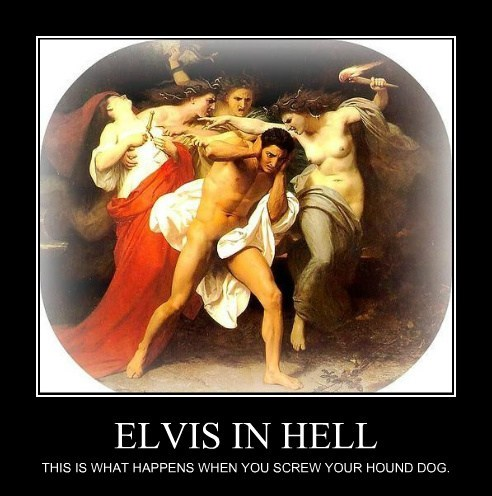 ELVIS IN HELL