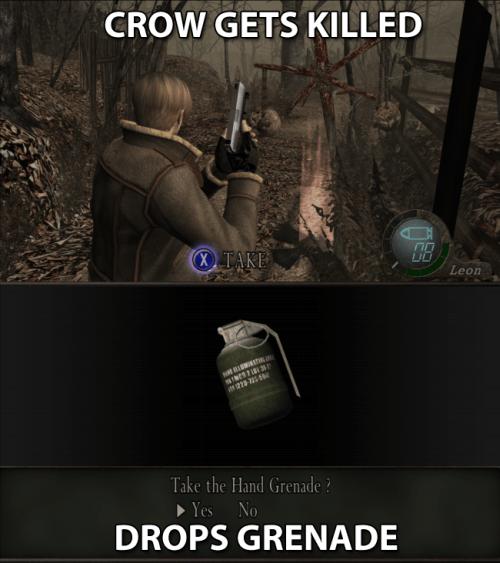 Resident Evil 4 Logic