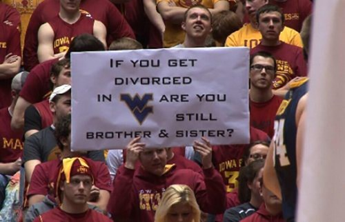 When It Comes to Sports Signs, Iowa State Doesn't Mess Around