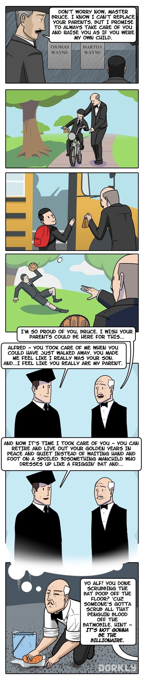 Alfred Pennyworth's Greatest Dream