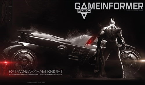 Surprise, Surprise, April's Game Informer Cover is for Arkham Knight