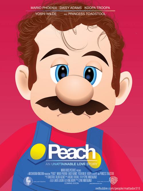 Joaquin Phoenix,peach,her,movies,movie posters,mario