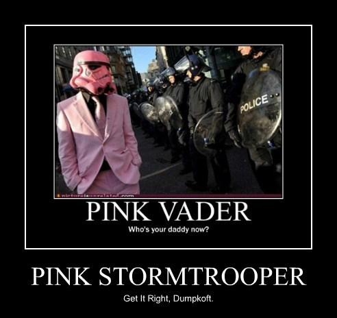 PINK STORMTROOPER