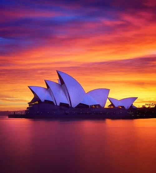 Architectural beauty in Sydney, Australia