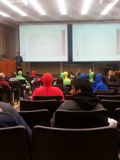 Red Man Is at Your College?