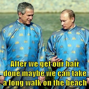After we get our hair done maybe we can take a long walk on the beach