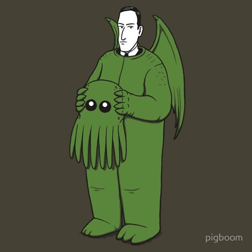 Cthulhu Would Have Gotten Away With It, If It Weren't For You Pesky Kids