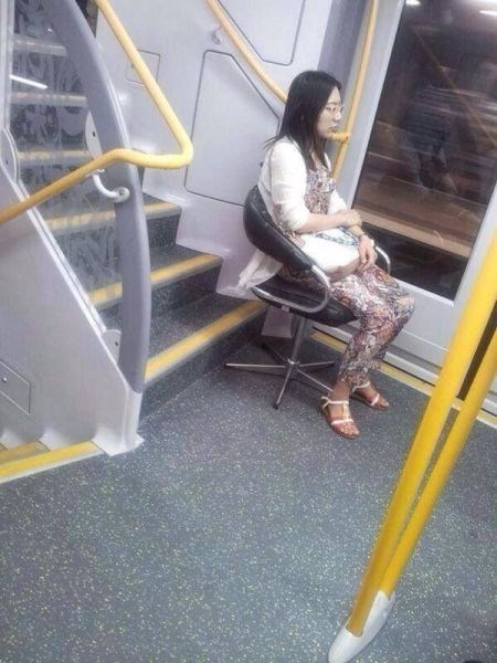 Long Commute? Bring Your Own Seat
