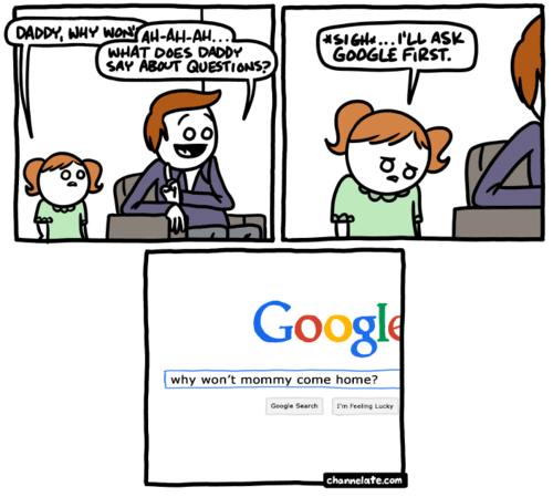 google,parenting,sad but true,web comics