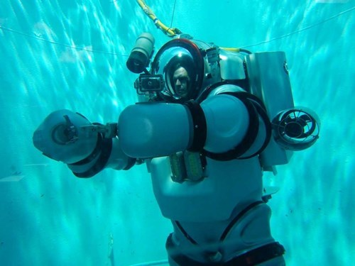 Meet the Underwater Exo-Suit!
