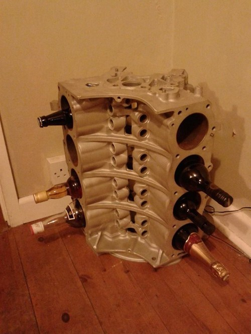 The Manliest Wine Rack