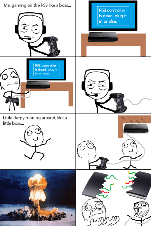 PS3 vs. Gravity