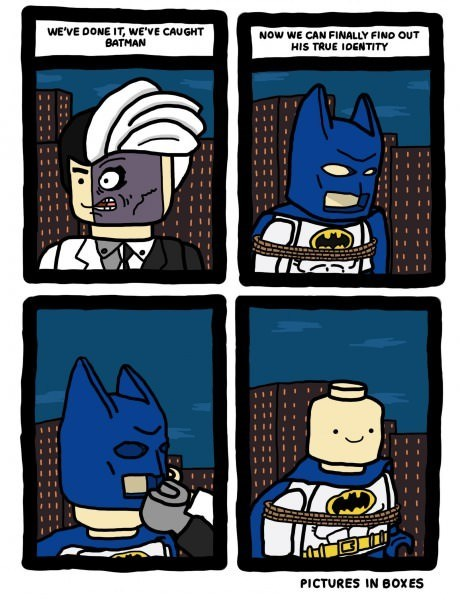 Batman's Secret Identity Revealed