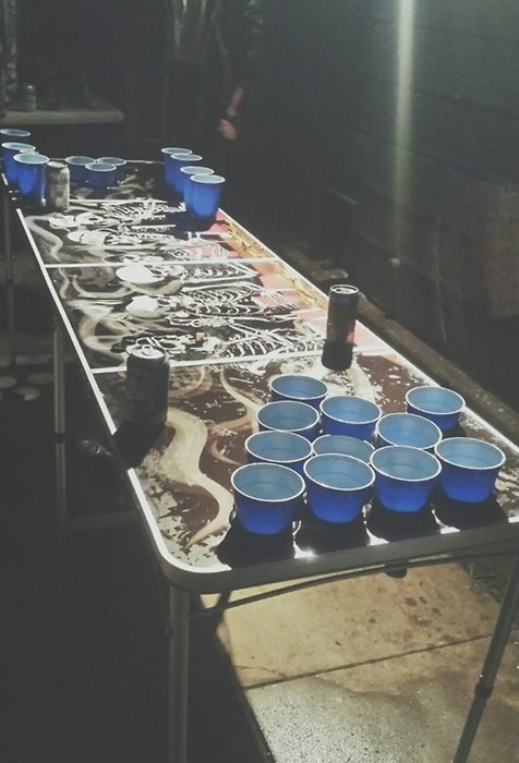 Keep Your Beer Stable During Beer Pong