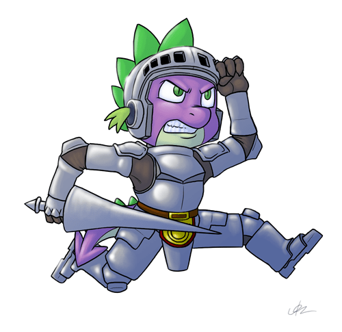 Spike Cosplays Ghosts and Goblins