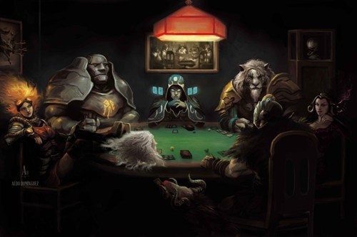 A Friendly Gathering For a Game of Magic