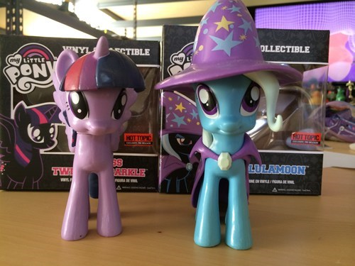 the great and powerful TRIXIE! …oh and the book horse.