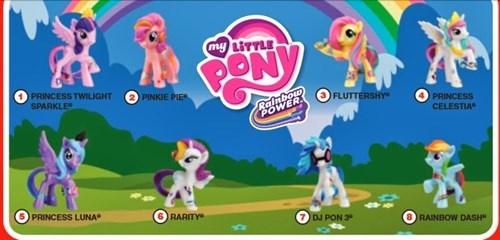 McDonald's Ponies Revealed